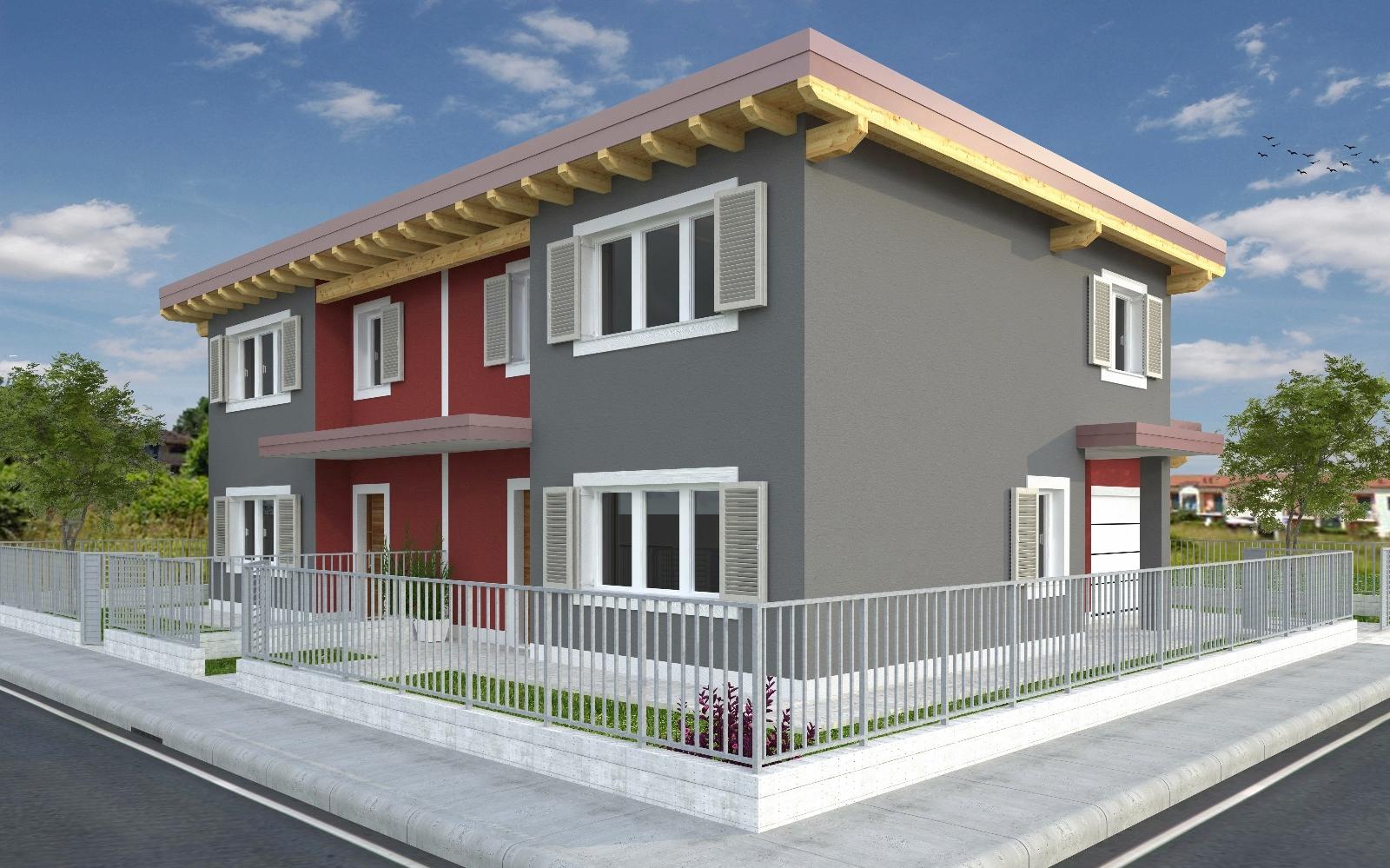 Progetti ville bifamiliari moderne for Prospetti ville moderne