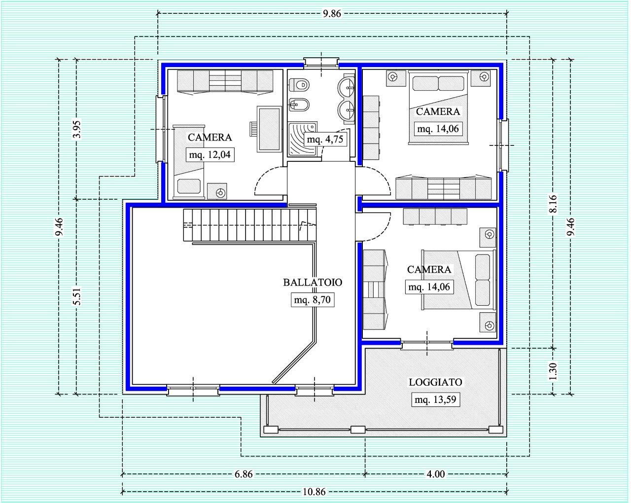 Case in xlam pomhaus s r l progetto villetta modern love for Progetto ville moderne nuova costruzione