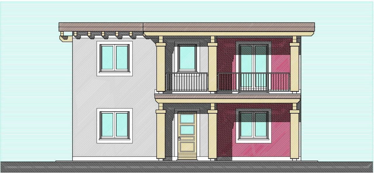 Case in xlam pomhaus s r l progetto villetta modern love for Piani di palazzi di 2 piani