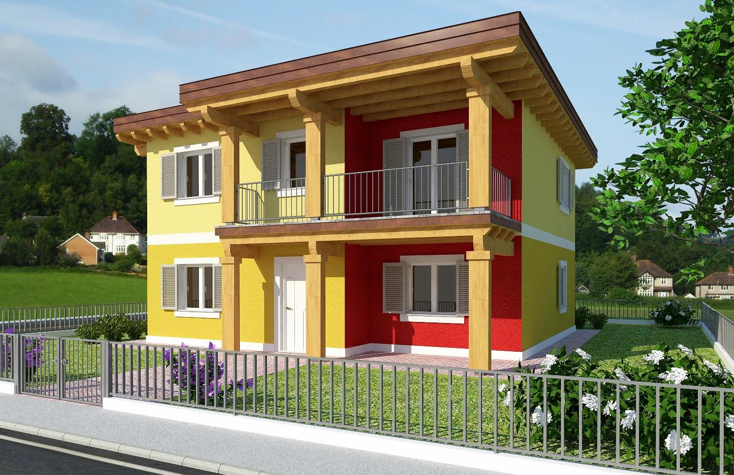 Latest progetti di case moderne progetto villa ad un piano - Decorazioni pareti esterne casa ...