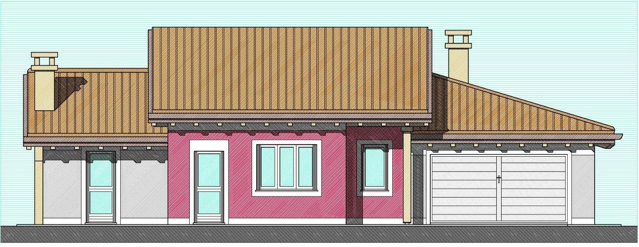 Progetto villetta 2 piani bipiano progetti case mobili for Piani di studio a casa