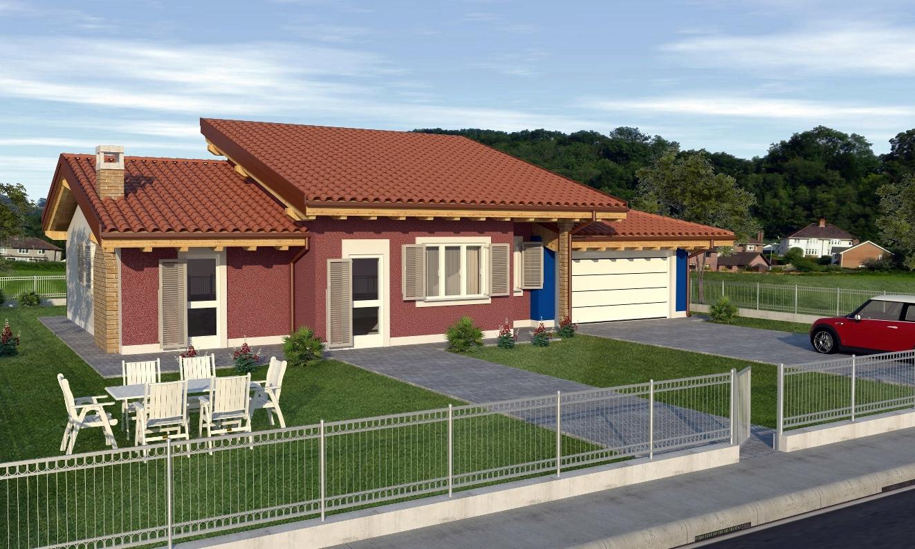 Case in xlam pomhaus s r l progetto villetta for Piani di casa di lusso con costi da costruire